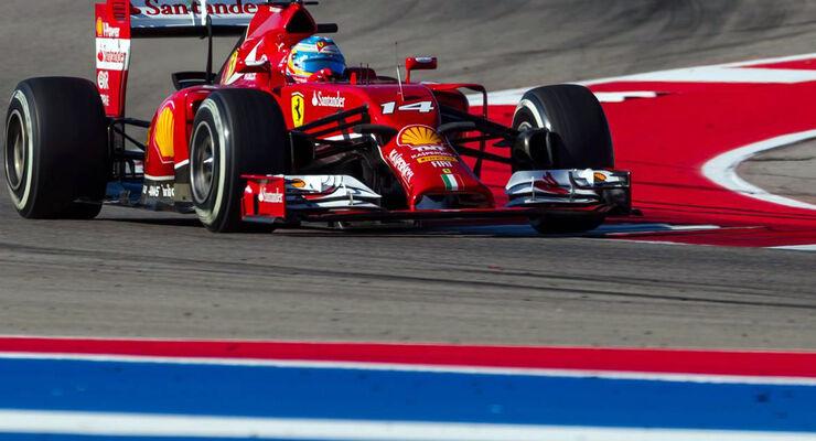 Fernando Alonso - Formel 1- GP USA - 1. November 2014
