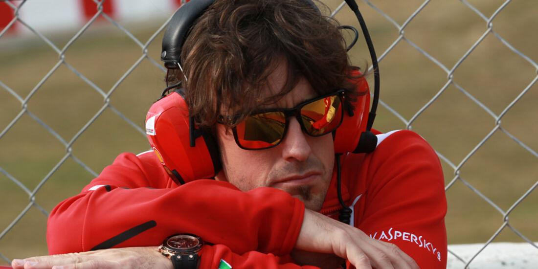 Fernando Alonso - Formel 1-Test - Barcelona - 2012