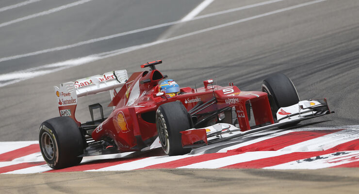 Fernando Alonso GP Bahrain 2012
