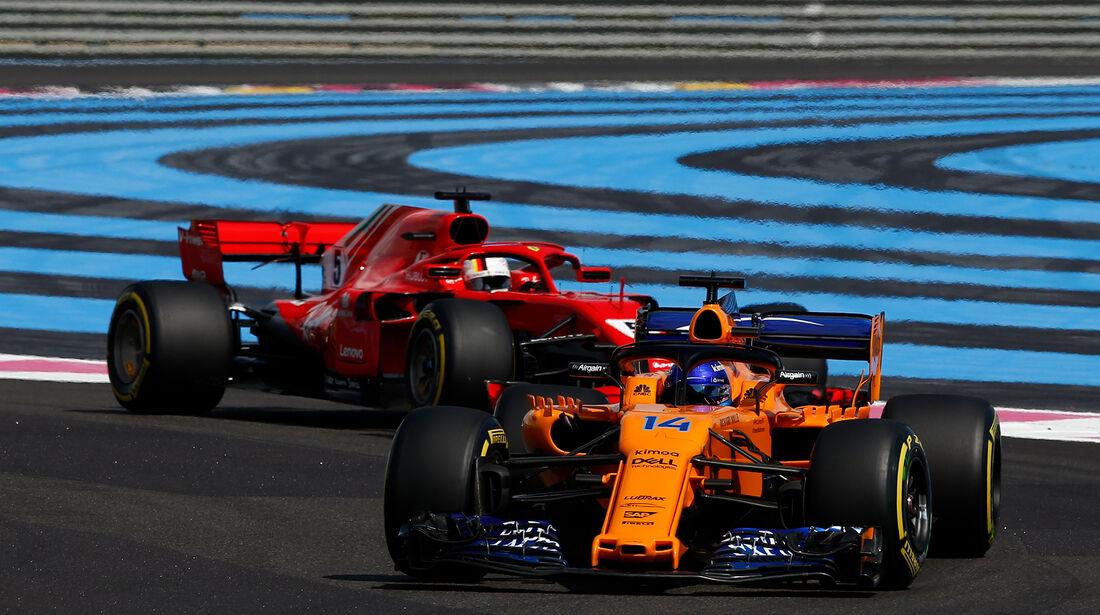 Fernando Alonso - GP Frankreich 2018