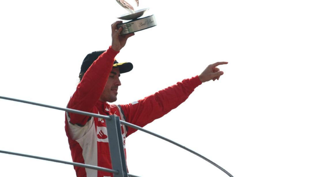 Fernando Alonso GP Italien Monza 2011
