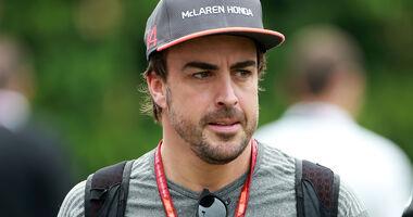 Fernando Alonso - GP Singapur 2017