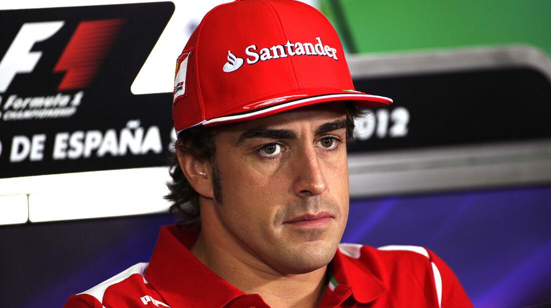 Fernando Alonso - GP Spanien - 10. Mai 2012