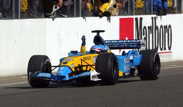 Fernando Alonso - GP Ungarn 2003