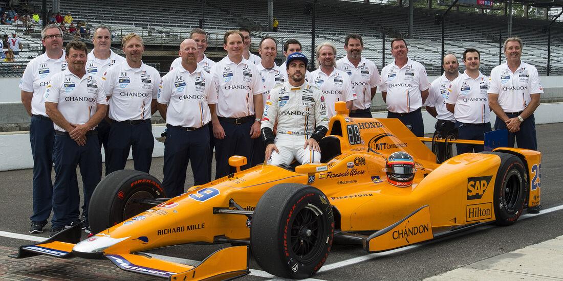 Fernando Alonso - Indy500-Qualifying 2017