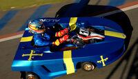 Fernando Alonso Kart Brasilien 2013