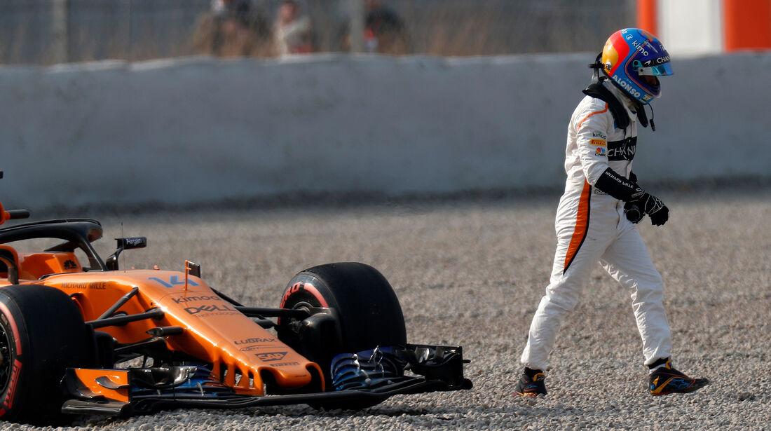 Fernando Alonso - McLaren - Barcelona F1-Test 2018 - Tag 1