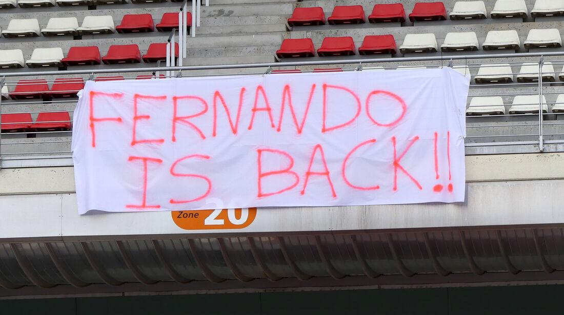 Fernando Alonso - McLaren - Ferrari - F1-Test - Barcelona - Tag 2 - 27. Februar 2018