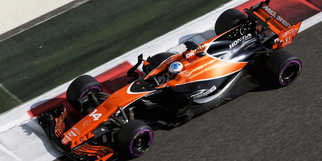 Fernando Alonso - McLaren - Formel 1 - GP Abu Dhabi - 24. November 2017