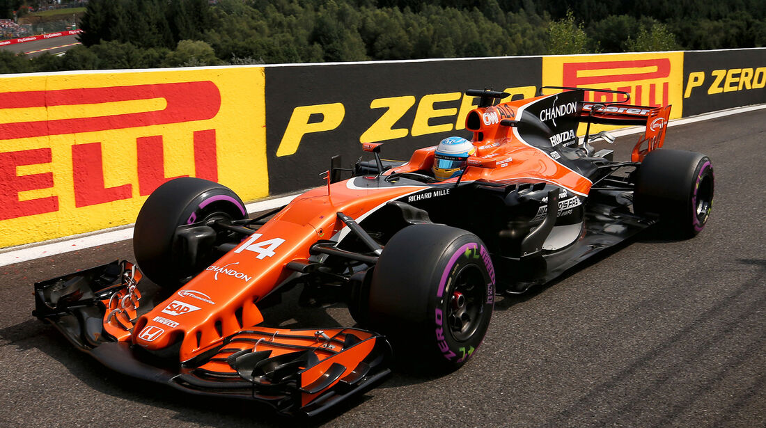 Fernando Alonso - McLaren - Formel 1 - GP Belgien - Spa-Francorchamps - 26. August 2017