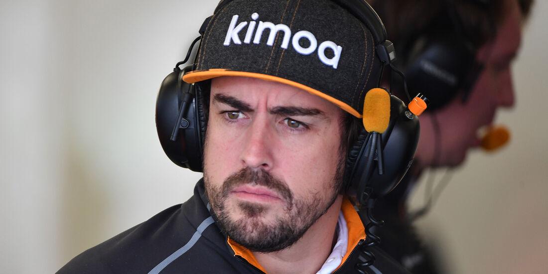 Fernando Alonso - McLaren  - Formel 1 - GP Mexiko - 26. Oktober 2018