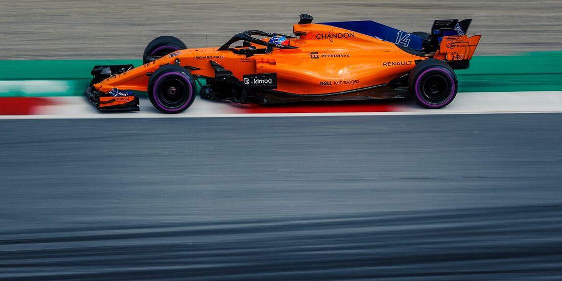 Fernando Alonso - McLaren - Formel 1 - GP Österreich - 30. Juni 2018
