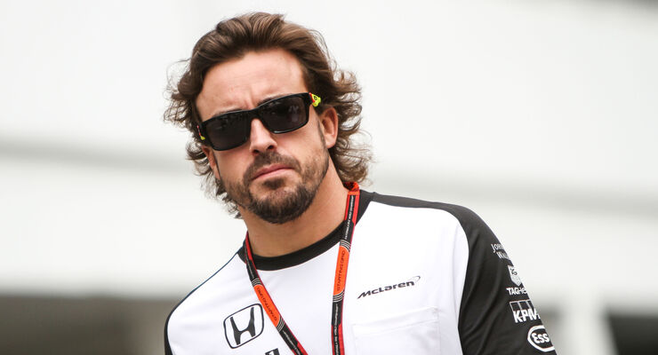 Fernando Alonso - McLaren - Formel 1 - GP Singapur - 17. September 2015