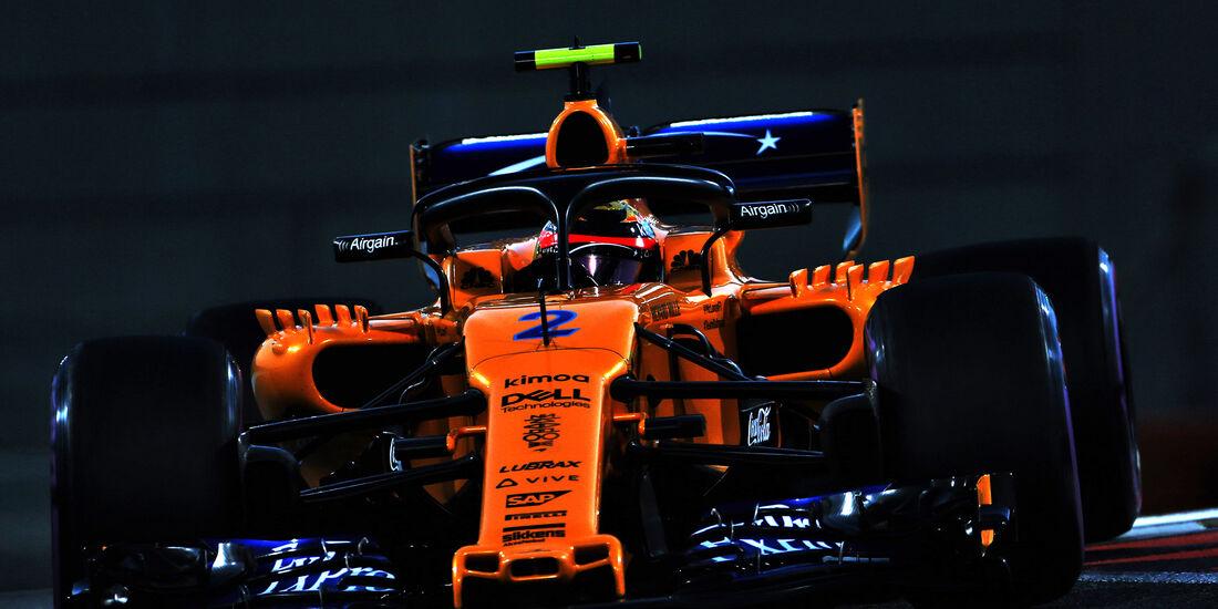 Fernando Alonso - McLaren - GP Abu Dhabi - Formel 1 - 23. November 2018
