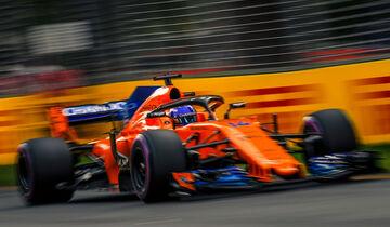 Fernando Alonso - McLaren - GP Australien 2018 - Melbourne - Qualifying