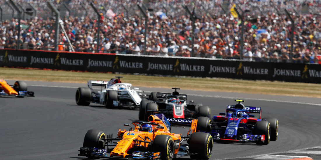 Fernando Alonso - McLaren - GP England 2018 - Silverstone - Rennen