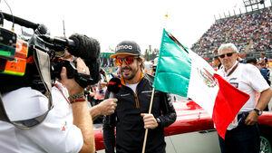 Fernando Alonso - McLaren - GP Mexiko 2018