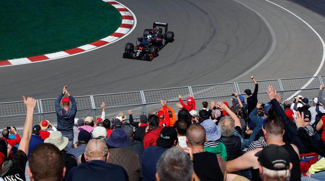 Fernando Alonso - McLaren-Honda - GP Kanada - Montreal - Freitag - 10.6.2016