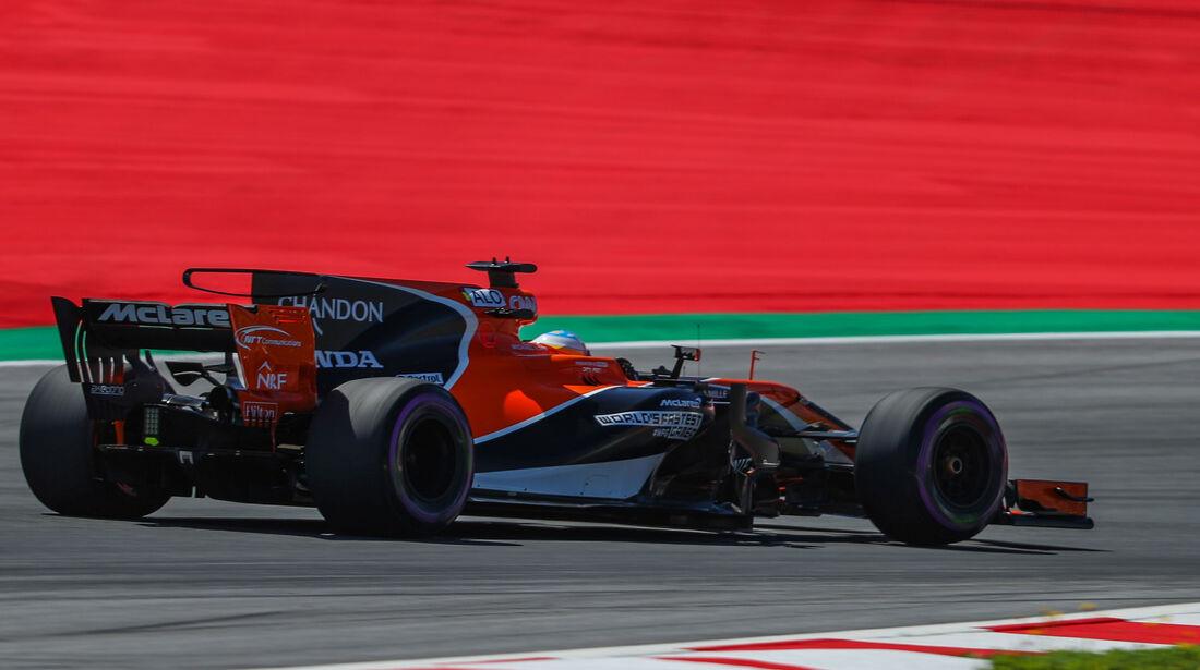 Fernando Alonso - McLaren-Honda - GP Österreich - Spielberg - Formel 1 - Freitag - 7.7.2017