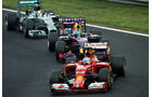 Fernando Alonso - Sebastian Vettel - Lewis Hamilton - Formel 1 - GP Ungarn - 27. Juli 2014