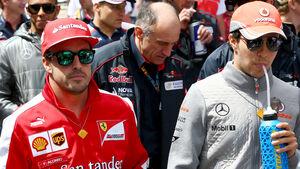 Fernando Alonso & Sergio Perez - F1 2013