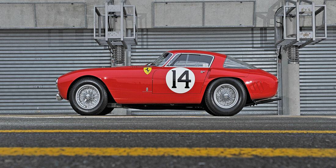 Ferrari 340/376 MM, Seitenansicht