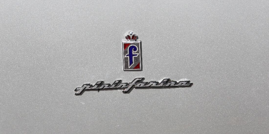Ferrari 412, 1988, Logo, Detail