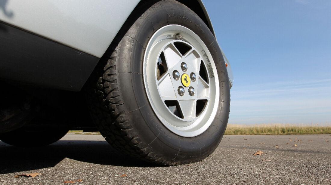 Ferrari 412, 1988, Reifen, Felge, Detail
