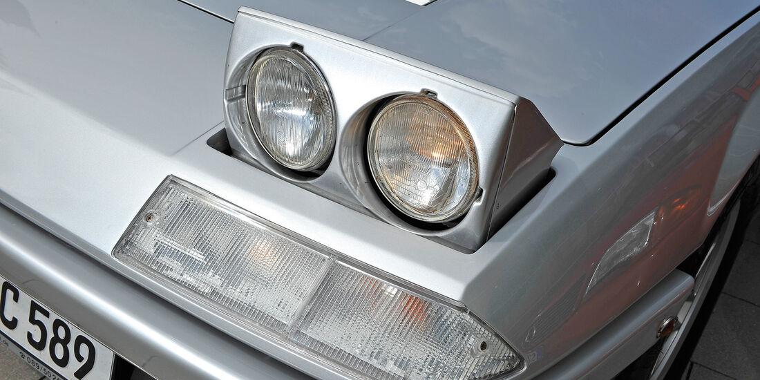 Ferrari 412, Frontscheinwerfer