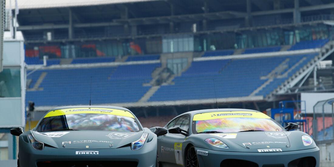 Ferrari 458 Challenge, F430 Challenge, Frontbild