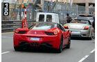 Ferrari 458 Italia - Car Spotting - Formel 1 - GP Monaco - 25. Mai 2014