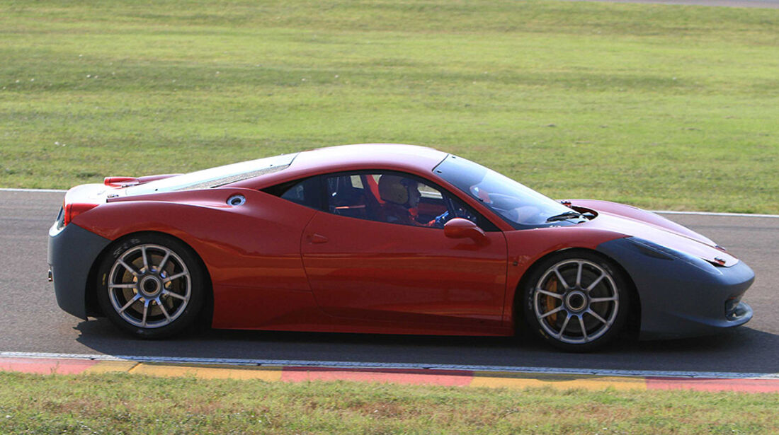 Ferrari 458 Italia Challenge Erlkönig