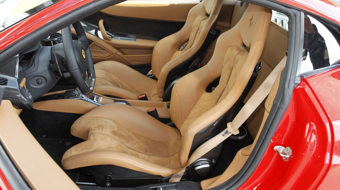 Ferrari 458 Italia Innenraum