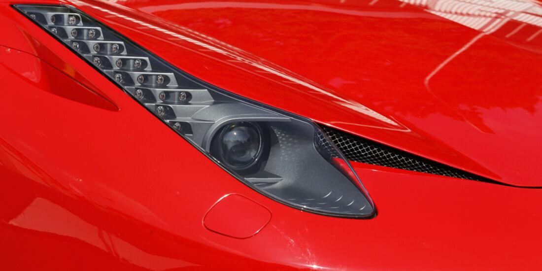 Ferrari 458 Italia Scheinwerfer