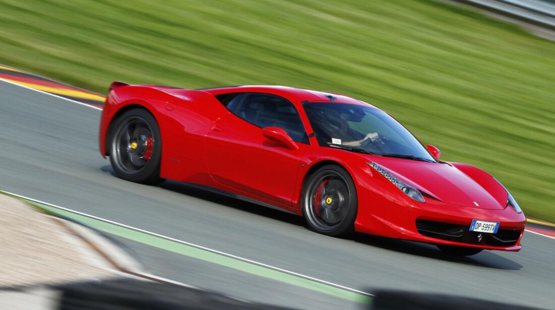 Ferrari 458 Italia, Seitenansicht