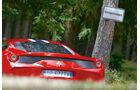 Ferrari 458 Speciale, Heck