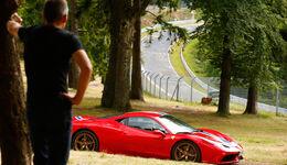 Ferrari 458 Speciale, Seitenansicht