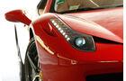 Ferrari 458 Spider, Frontscheinwerfer