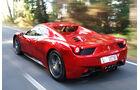 Ferrari 458 Spider, Heck