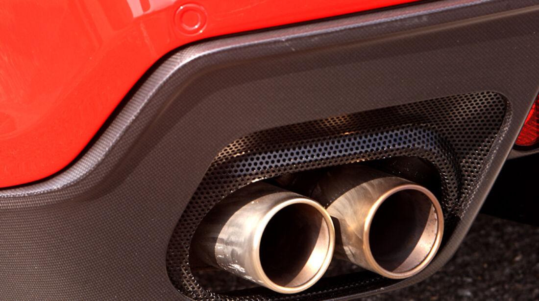 Ferrari 599 GTO Auspuff