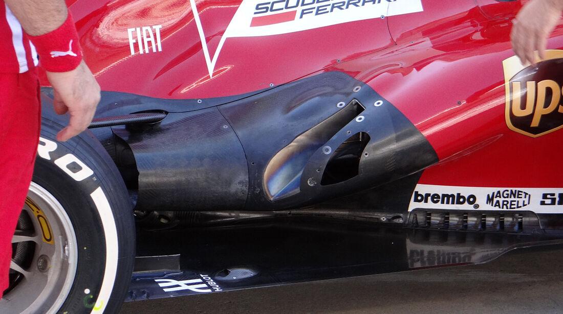 Ferrari - Auspuff - Formel 1 2013