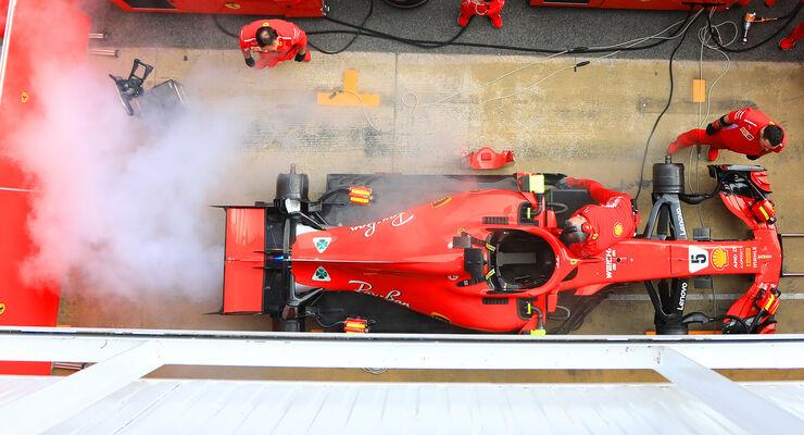 Ferrari - Barcelona - F1-Test - 2018