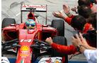 Ferrari - Boxen-Reportage - GP Ungarn - 2014