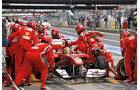 Ferrari, Boxenstopp