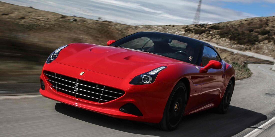 Ferrari California T Handling Speciale Fahrbericht Auto Motor Und