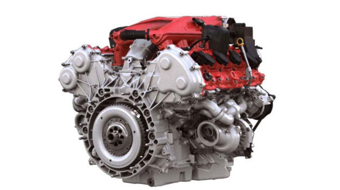Ferrari California T Motor