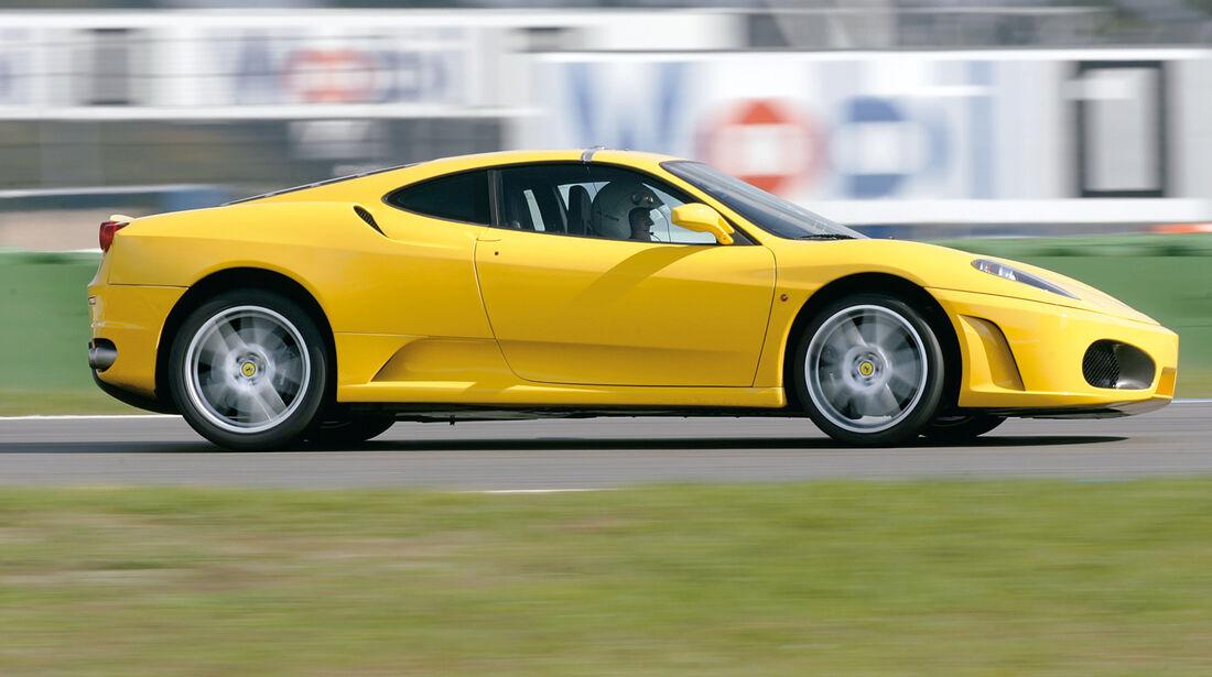 Ferrari F 430 Coupé, Seitenansicht