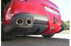 Ferrari F12 Berlinetta, Auspuff, Endrohr