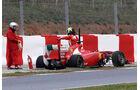 Ferrari F150 Massa Formel 1 Test Barcelona 2011