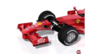 Ferrari F2008 Schlitz Piola